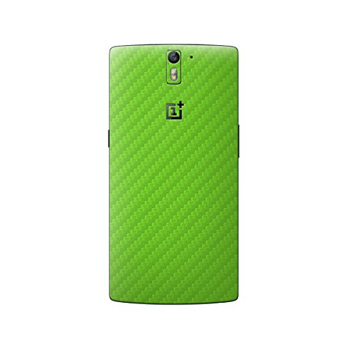 cruzerlite-carbon-fiber-skin-for-the-oneplus-one-retail-packaging-lime-green-back-only