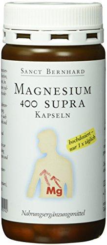 Sanct Bernhard Magnesium-400-Supra-120 Kapseln, 1er Pack (1 x 91 g)