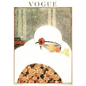Vintage Vogue-covers (onthewall Vogue Vintage-Covers - Pop Art Poster Druck janurary 1919 (PDP 018))
