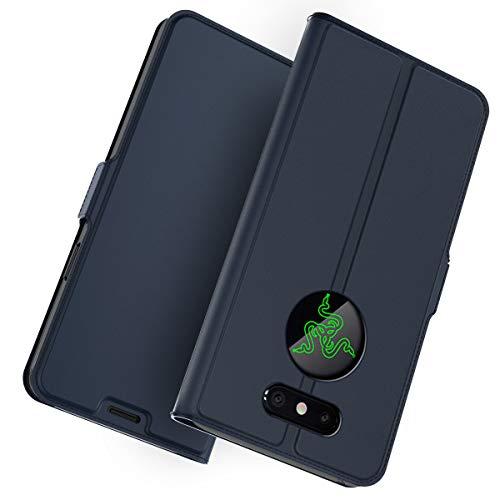 Forhouse Razer Phone 2 Hülle, Ledertasche Premium PU Leder Schutzhülle Flip Magnet Brieftasche Kartenfach Schlanke stoßfest Schutzhülle für Razer Phone 2