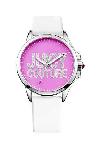 Juicy Couture Damen-Armbanduhr Analog Quarz Leder 1901094 (Juicy Rosa Couture Leder)