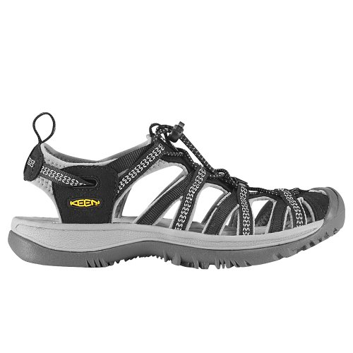 Keen Whisper, Sandali Alla Moda Donna nero (Black-Neutral Gray)