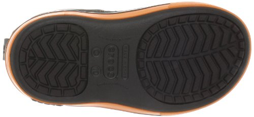 Crocs Crocband II,5 12905 Unisex - Kinder Halbschaft Gummistiefel Braun (Espresso/Orange)
