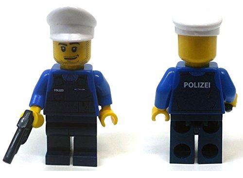 Modbrix 8237 - 2 Stück Deutsche Polizei Custom Minifiguren aus original Lego© Teilen thumbnail