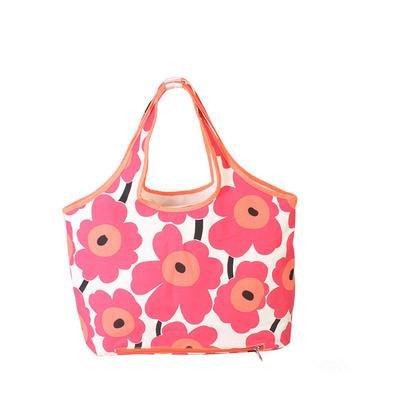 &ZHOU femminile borsa di tela borsa a tracolla grande capacità zaino borsa Messenger di svago del messaggero di moda , black rose red