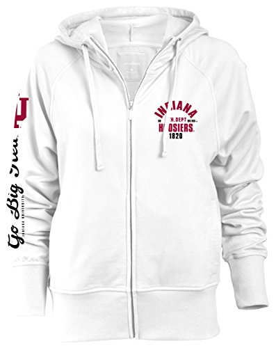 Camp David Damen Startlet Slouch Fit Full Zip Kapuze, Damen, Startlet, weiß Camp Zip Hoodie