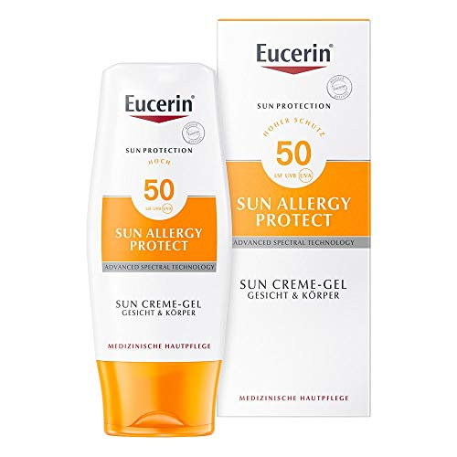 Eucerin Sun Protection Allergy Protect Sun Creme-Gel LSF 50, 150 ml Creme-Gel