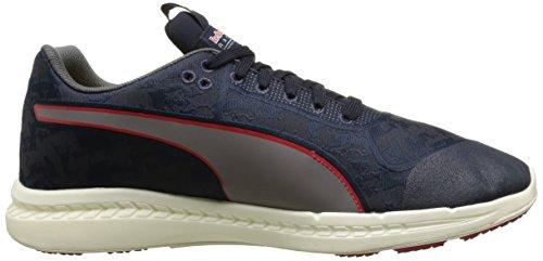 Puma Rbr Meshs Ignite Stpd, Sneaker uomo Blu