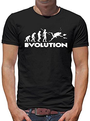 TLM Evolution Dive T-Shirt Herren XXL (Kostüm Tauchen Hund)