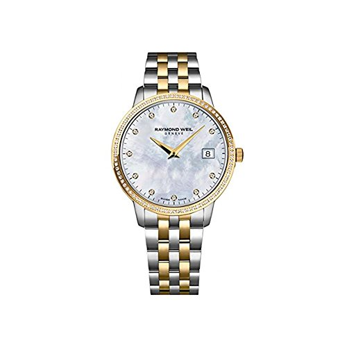 RAYMOND WEIL WOMEN'S 33MM STEEL BRACELET & CASE QUARTZ WATCH 5388-SPS-97081