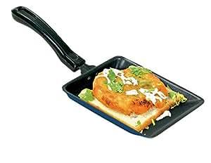 Nirlep Snack Maker Non-Stick Aluminium Sandwich Pan, Blue