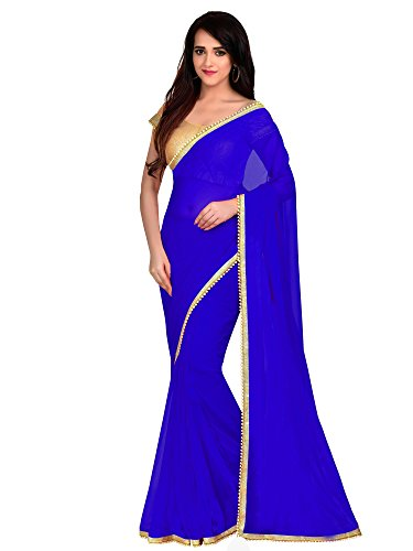 Viva N Diva Saree For Women's new collection party wear Royal Blue...
