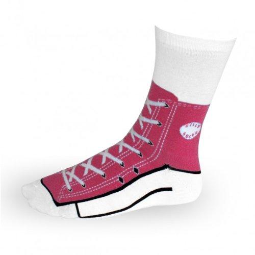 Preisvergleich Produktbild Sneaker Socken - Silly Sock - pink