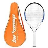 Calmare Raqueta de Tenis, Raqueta de Tenis de Aluminio Incluyendo Bolsa de Tenis-Raquetas de Tenis para niños, Hombres y Mujeres (55cm)