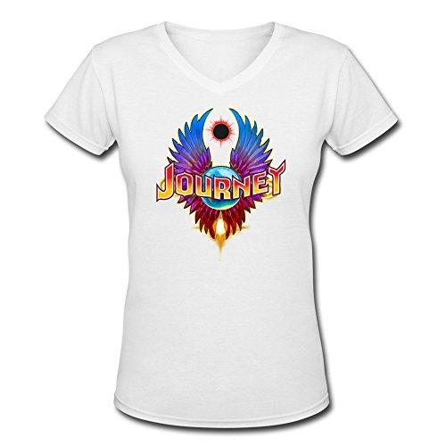 boao-viaje-logo-camiseta-de-cuello-de-pico-100-camiseta-de-manga-corta