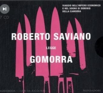 Gomorra. Audiolibro. 7 CD Audio (Audiobook) di Saviano, Roberto (2008) Tapa blanda