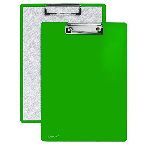 Klemm-Brett, Standard, grün,10 Stück (Anzeige Brett)