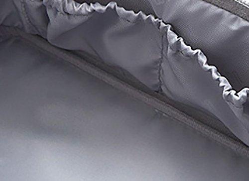 CLOTHES- Pacchetto di immagazzinaggio multifunzionale dei cosmetici della borsa della lavata della cassa cosmetica portatile portatile di alta qualità portatile della signora Makeup Bag ( Colore : Gri Grigio