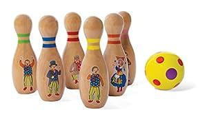 Desconocido Mr Tumble 9016 Classic Skittles - Juego de boquillas de Madera