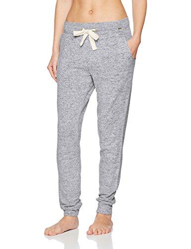 Skiny Damen Loungewear Collection Hose Lang, Grau (Aluminium Melange 1088), 38 (Lounge Hose Loungewear)