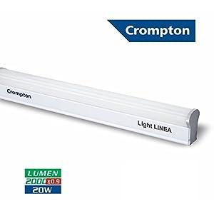 Crompton Light Linea 20-Watt LED Tube Light (Cool Day Light)
