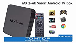MXQ - 4K Video Coding Ultra Hd Android Smart Tv Box Compatible With All Android Or Iphone Devices