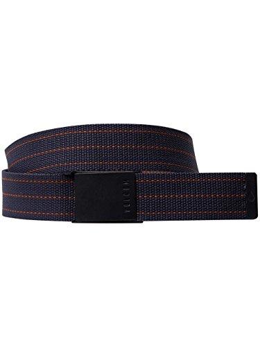 Volcom Horizon Web Belt - Belt - Man, Man, D5931850, Midnight Blue, One Size (Manufacturer Size: O / S)