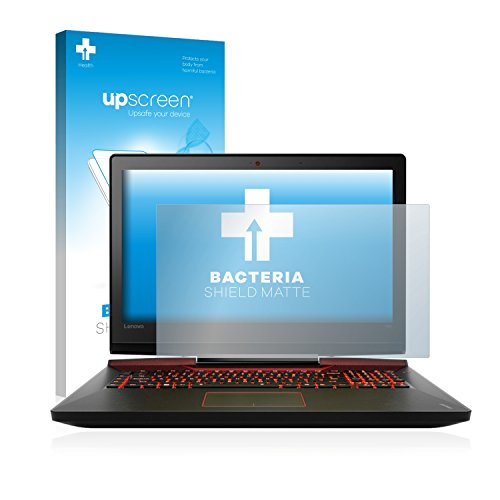upscreen Antibakterielle Schutzfolie Matt kompatibel mit Lenovo IdeaPad Y900 (17.3