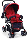 #10: Plus One Red Baby Pram & Stroller