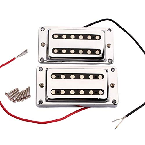 alsu3luy02Ld Professionelle Dual Coil versiegelte Humbucker Tonabnehmer für LP E-Gitarren, 2 Stück -