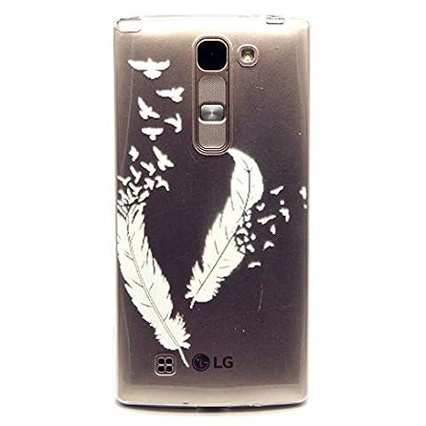MOTOUREN Coque pour LG Magna H502 TPU Silicone Souple Gel Doux Housse étui de Protection Ultra Mince Personnalité Téléphone Portable Phone Case Coque -printemps