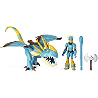 Dragons 6052269 DreamWorks, Stormfly and Astrid, Armored Viking Figure, for Kids Aged 4 and Up