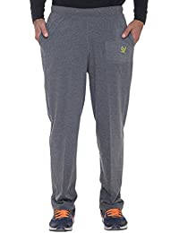 VIMAL Men's Metallic Grey Trackpants