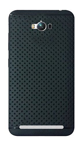 RSC POWER+ 360* Protection Premium Dotted Designed Soft Rubberised Back Case Cover For Asus Zenfone Max -Black  available at amazon for Rs.148