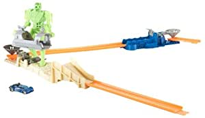 Mattel - R1677 - coffret cascades - Hot Wheels® - Trick Track - Lanceur Turbo