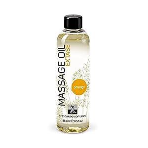 SHIATSU Massage Oil - Extase Orange, 250 ml