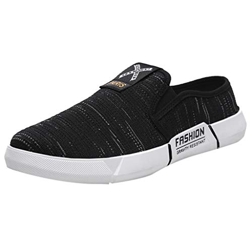 Segeltuchschuhe Herren Sneaker Slip-on Faule Schuhe Leichte Bequem Touristische Schuhe Outdoor Freizeit Turnschuhe Elegante Touristische Schuhe Outdoorschuhe