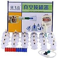Kays Schröpfen Set 24 Vakuum-Tassen Mit 12 Magnetkopf Message Therapy Set, Vakuumpumpe Magneten Biomagnetische... preisvergleich bei billige-tabletten.eu