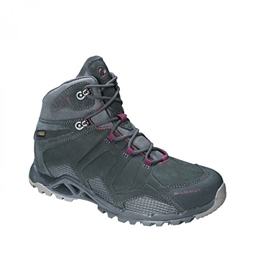 Mammut Comfort Tour Mid GTX® SURROUND Women (Backpacking/Hiking Footwear (Mid)) graphite-amarante