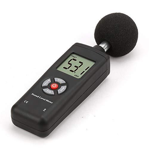 Präzise TL-201 30-130 dB LCD Digital Noise Detector Dezibelmeter mit Schallpegelmesser