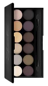 Sleek Makeup i-Divine Lidschatten Palette Au Naturel mit Spiegel, 1er Pack (1 x 13 g)