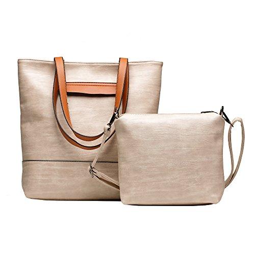 Damen Schultertasch,Frau Damen Henkeltasche Jet Set Travel Saffiano Leather Top-zip Tote Henkeltaschen (Large Top Zip-handtasche)