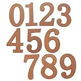 Homyl Dígitos de Dirección de Puerta para Decoración de Puertas Interiores y Exteriores