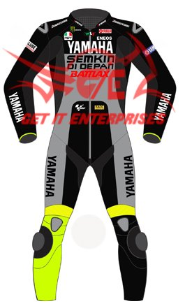Monos de moto para motociclista de carreras, de piel, replica de Valentino...
