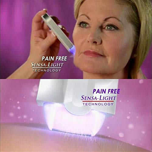Technologie-Laser-Epilierer-Dame Women Instant Pain Free Rechargeable Hair Remover für Ganzkörper-Bein-Arm-Bikini Balight