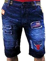 Kart Trade Casper Buffalo Denim Shorts for Men and Boys