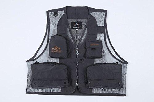 DDDFVVDS MJJ/Anglerweste Waistcoat. Vest. Outdoor Mesh Weste, 4-XXL