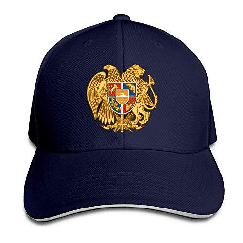 Wodann Armenian National Emblem Sandwich Baseball Cap Dad Hat Sun Hat