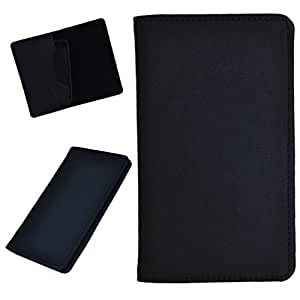 DCR Pu Leather case cover for Karbonn A90 (black)