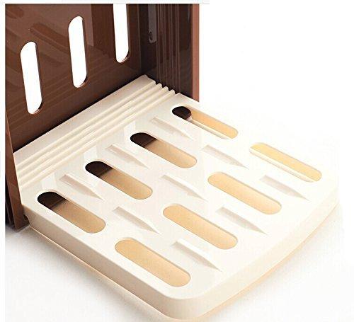 Nopea Perfekte Brotschneidführung Lebensmittel Brot Schneidemaschine Brotschneider Brotbretter Brotschneidebrett Scheibendicken präzises Brotschneidemaschine